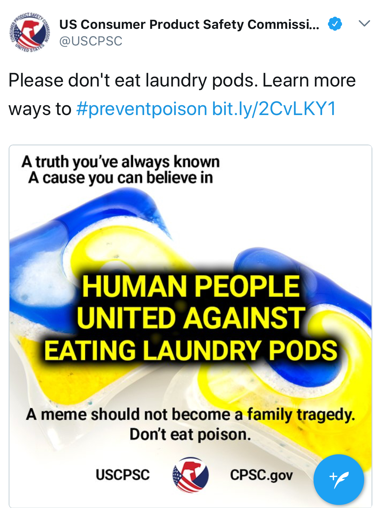 Accidental Or Intentional Tide Pods Meant For Laundry Not Mouths