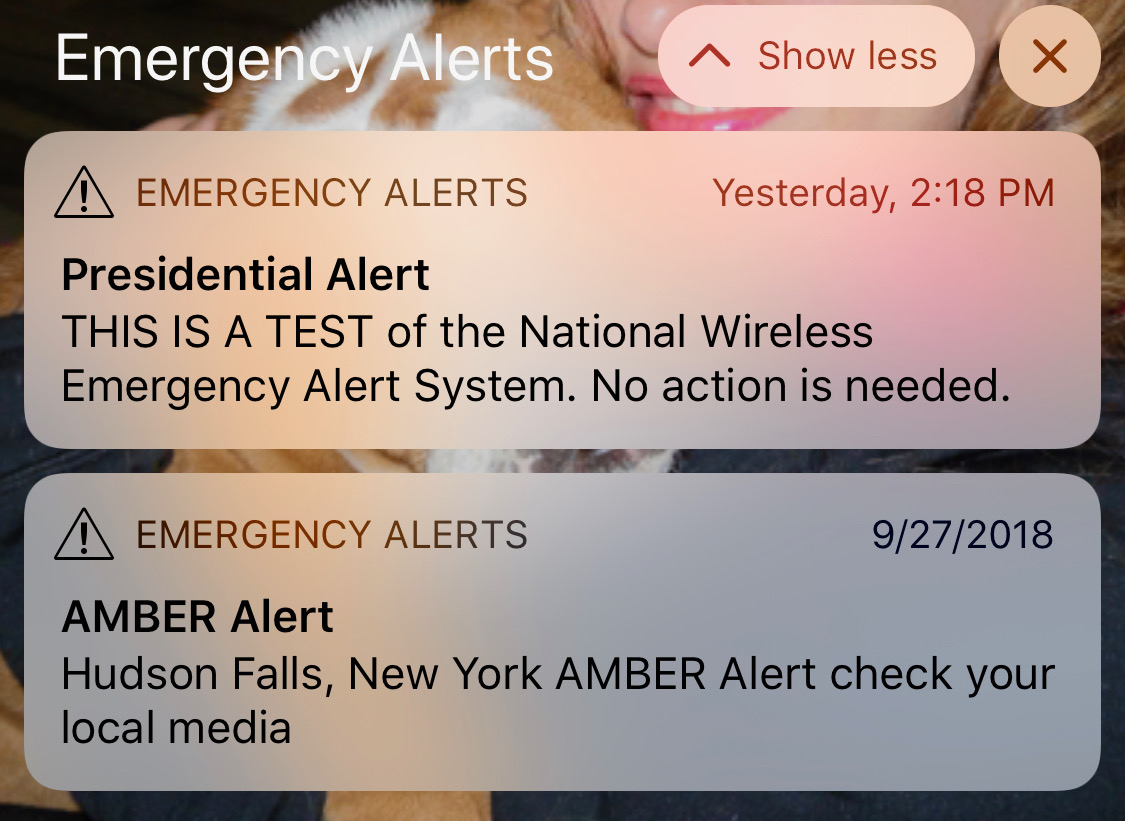 Presidential Alert System A Matter Of Public Health, Not Politics