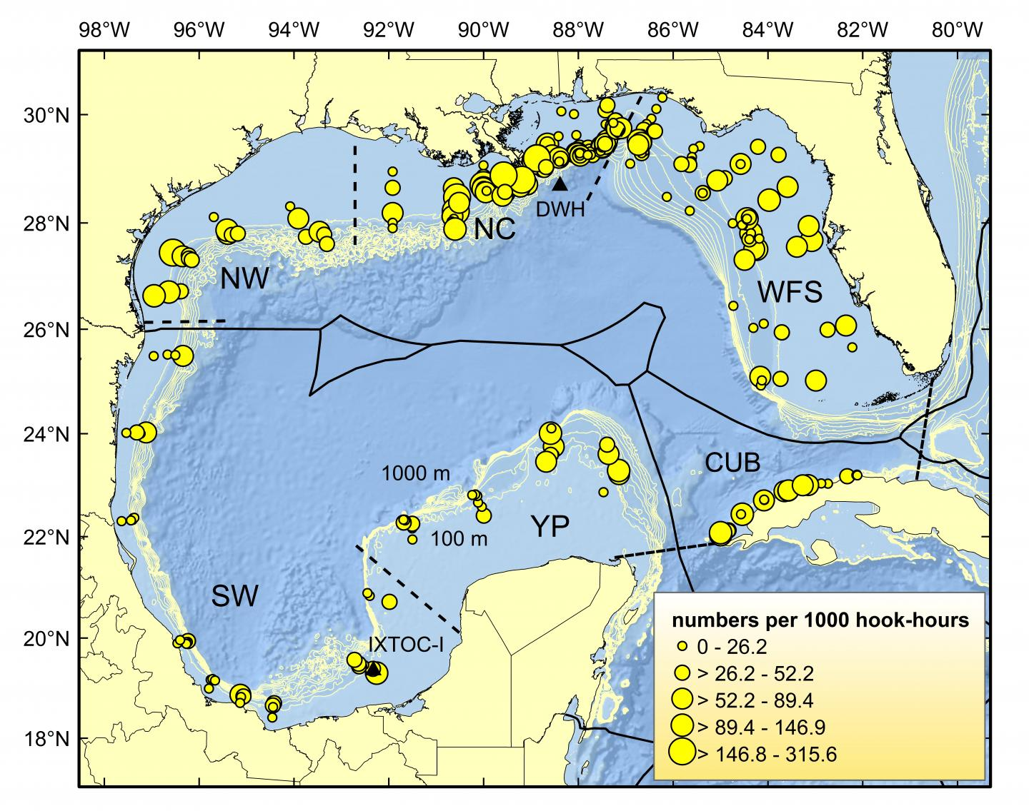 essing Marine Life, 8 Yrs. After Mive Gulf-of-Mexico Oil Spill ... on zone map washington, zone map pacific, zone 9 map, zone map arkansas, ecosystems with map of mexico, zone map usa, zone map new england, zone map florida, zone map canada, zone map north america, zone map wyoming,