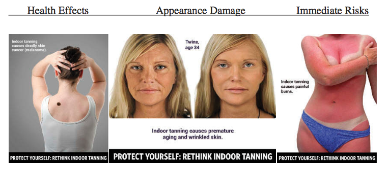 As With Smoking Using Disturbing Images To Stop Tanning Bed Use