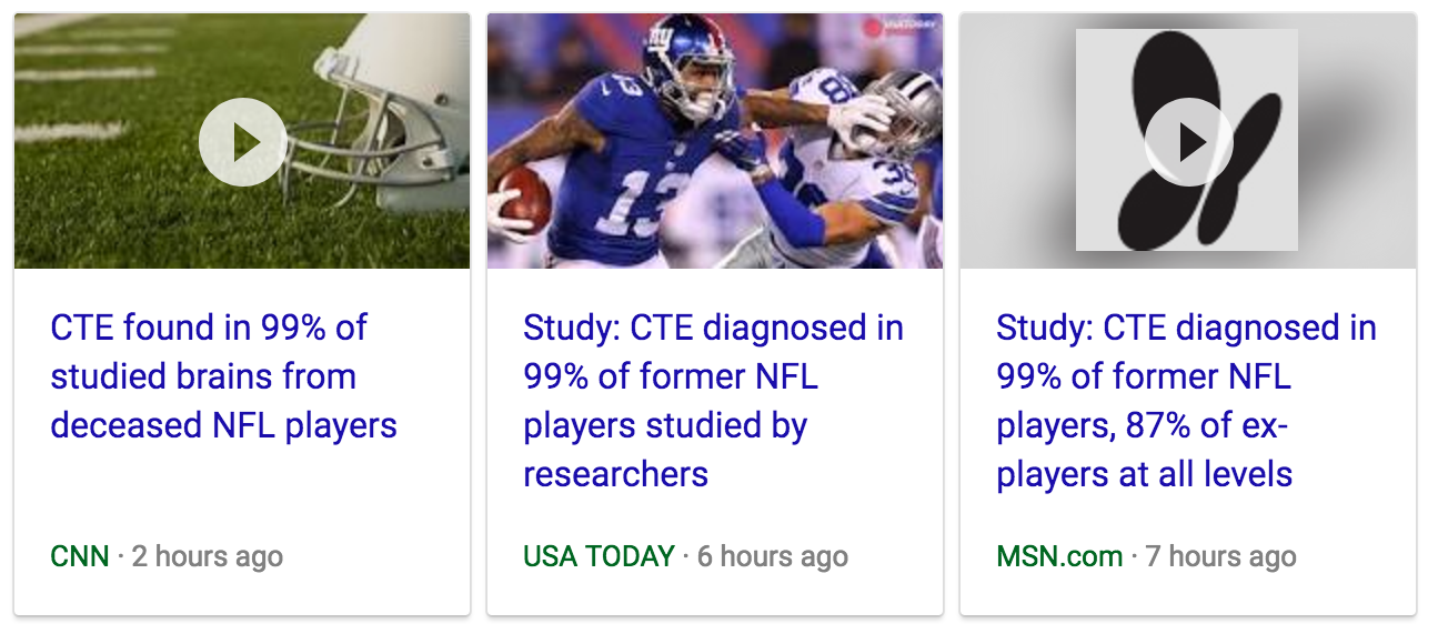 Be Skeptical: Will 99% of NFL Players Really Develop CTE