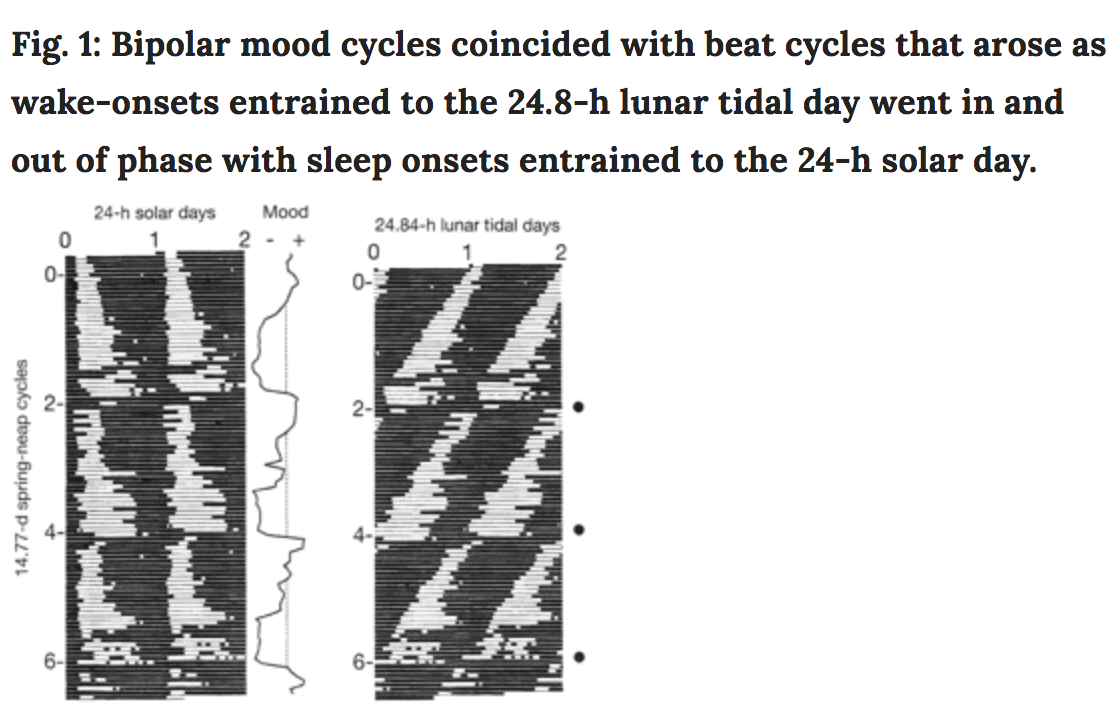 Man's Bipolar Mood Cycles Linked to the Moon | American Council on