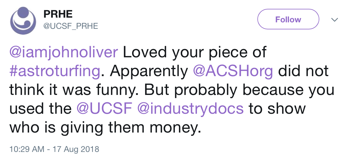 UCSF: An Academic Home for Conspiracy Theorists, Anti-Vaxxers