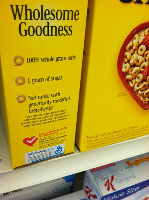 General Mills Discovered It's Not About GMOs, Activists Are