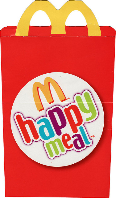 Happy Meals Get A Nudge Or Is It A Shove From California's