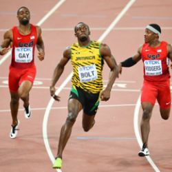 Usain Bolt, World's Fastest Man, Runs Unevenly, Study ...