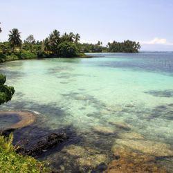 Samoa, in the Pacific Ocean