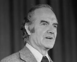 Senator George McGovern of South Dakota