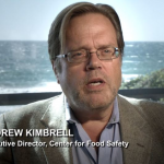 Andrew Kimbrell, Center for Food Safety. The archetype of the puffy, rich, white 'haole activist from the mainland' that Hawaiians hate. Screenshot: Poisoning Paradise