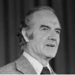 Senator George McGovern of South Dakota